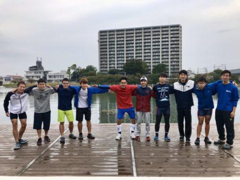 祇園のクルー写真。クルーキャプテンはいない。