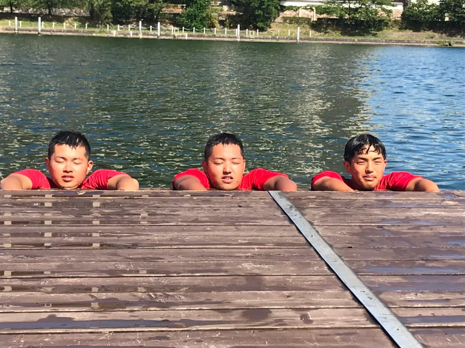 三兄弟です。at琵琶周