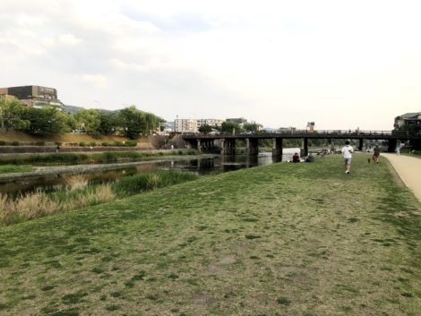 鴨川の風景